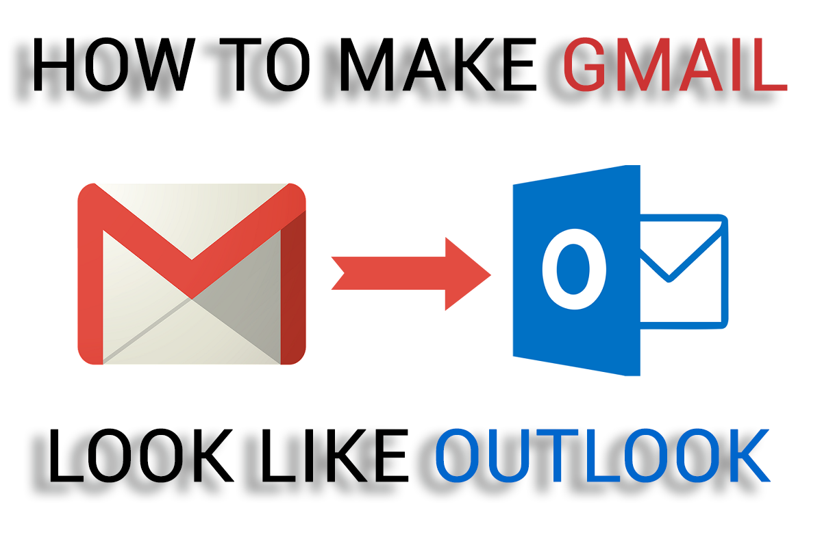Making gmail inbox look like outlook