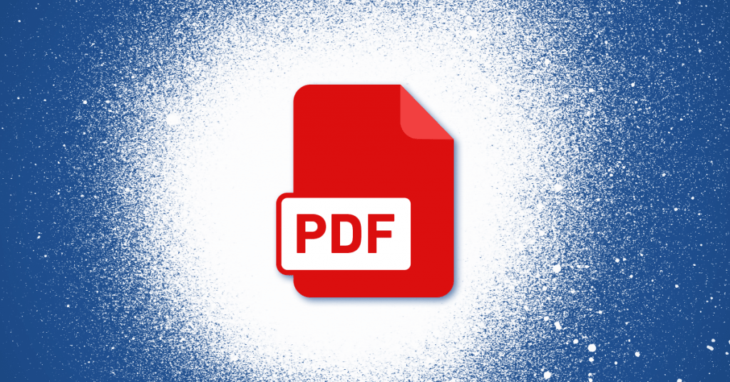 PDF versions and subsets