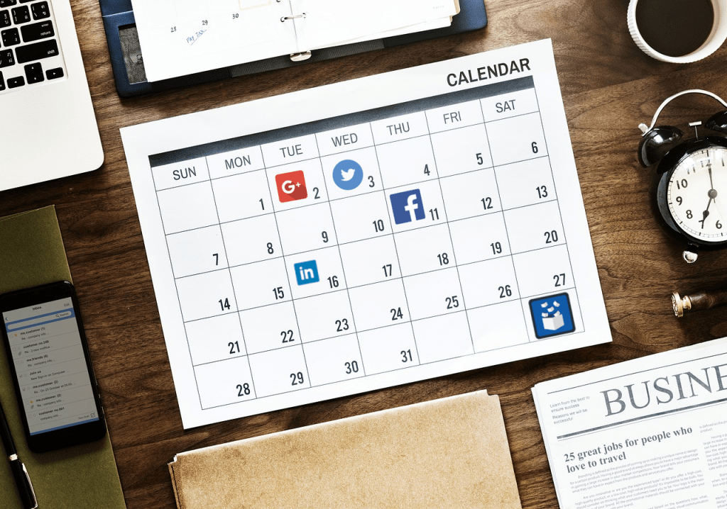 Tips for creating a social media content calendar