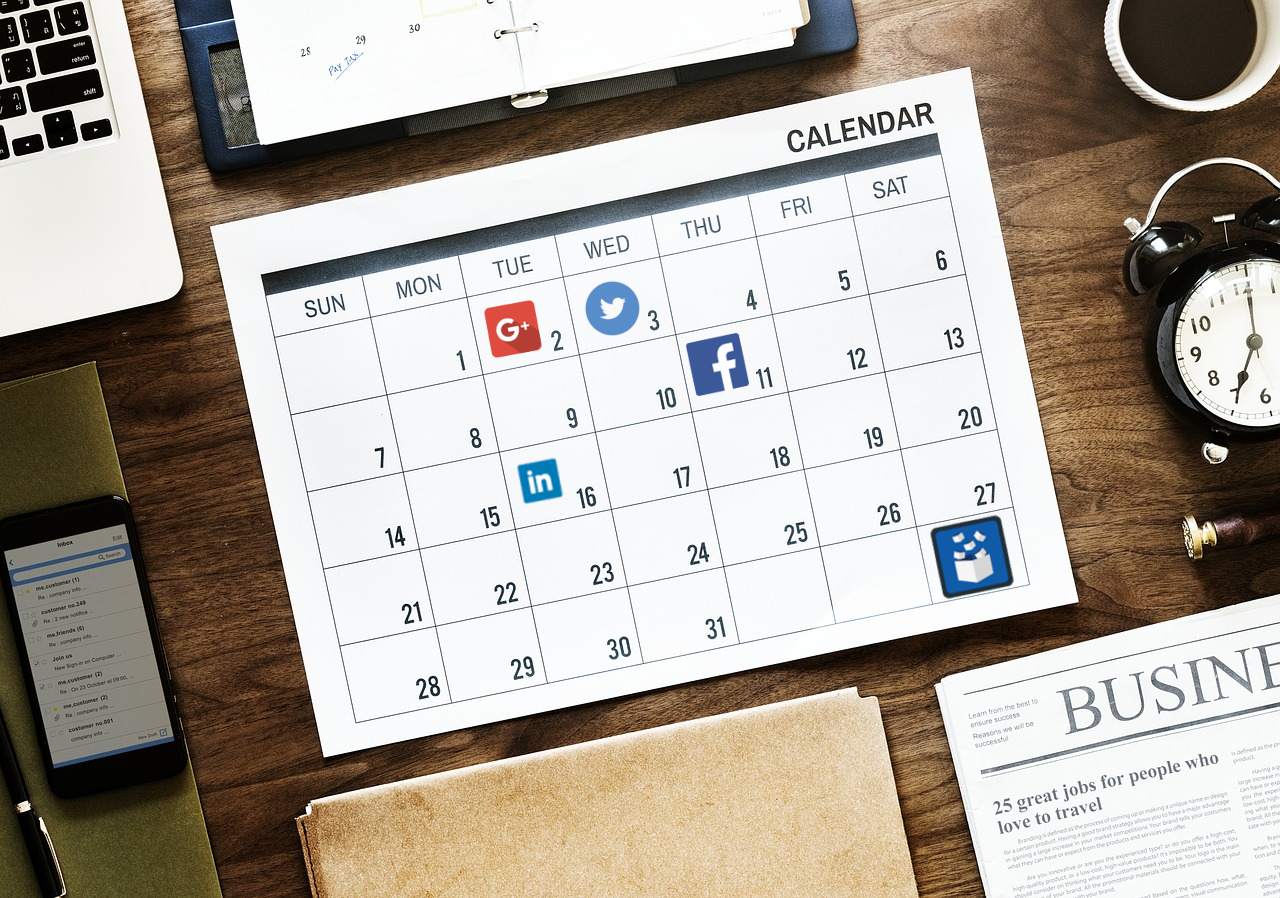 Tips for creating a social media content calendar