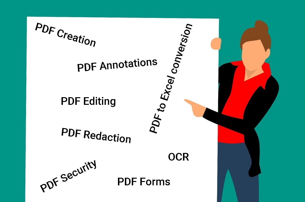List of features to look in a PDF software tool