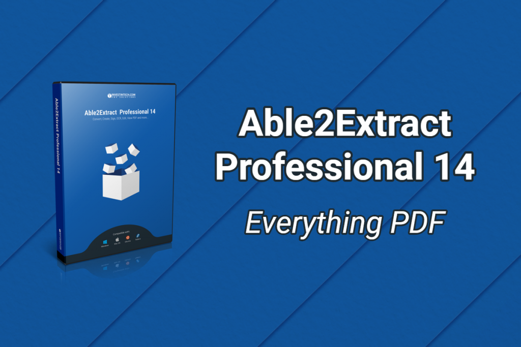 Able2Extract Professional PDF Suite