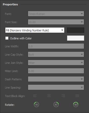 PDF redaction customization options
