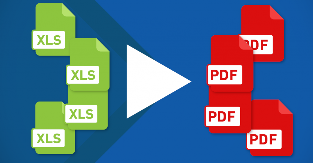 Convert multiple Word, Excel & other printable files to PDF in a few clicks