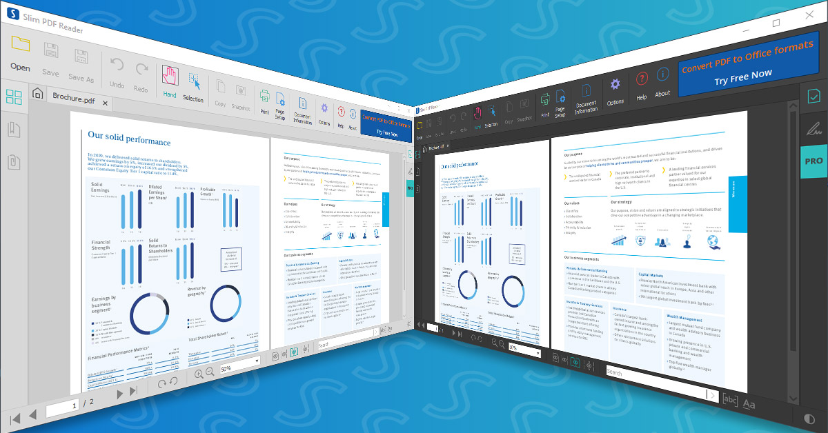 Slim PDF Reader 2: Lightweight & Powerful Free PDF Viewer