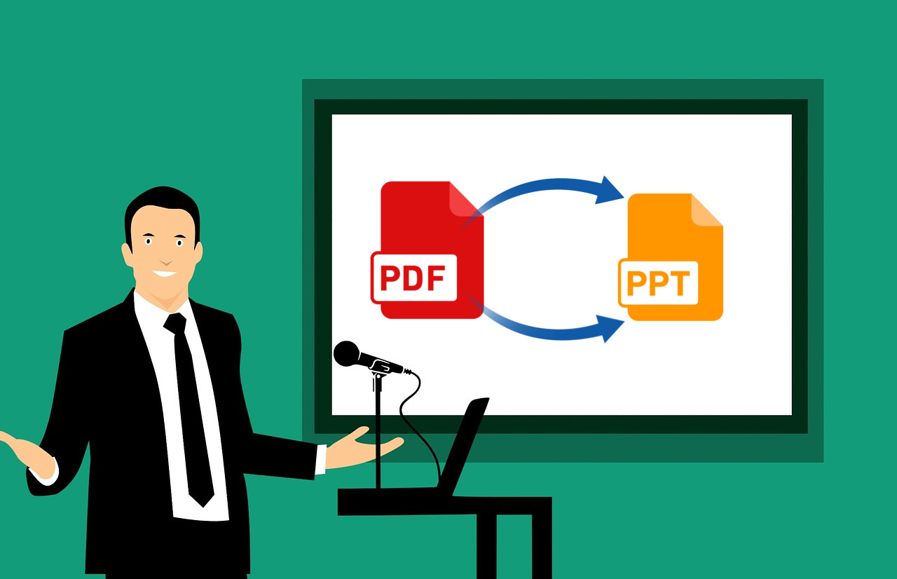 how to convert pdf into ms powerpoint
