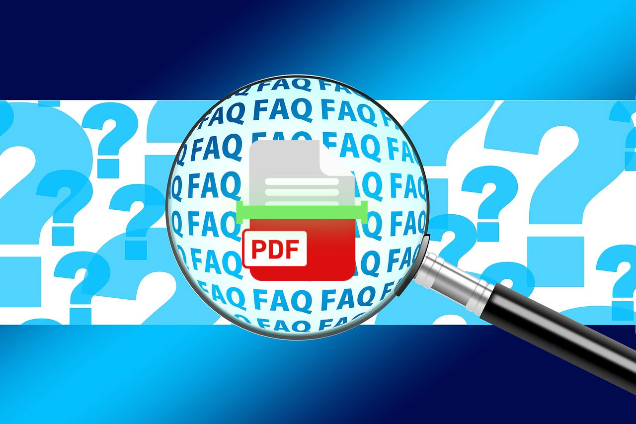 Frequently asked questions and answers on scanned PDFs